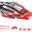 Redcat Racing KB-61070 Off Road Buggy Body- Red Scheme ~