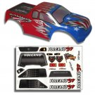 Redcat Racing 88019RWB 1/10 Truck Body Red, White, and Blue