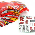 Redcat Racing 88007r 1/10 Truck Body Red  88007R