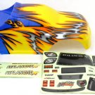 Redcat Racing  Blue Yellow Avalanche body  08701
