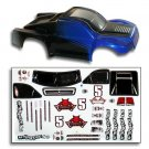 Redcat Racing BS804-002B 1/8 Short Course Truck Body Blue and Black