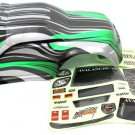 Redcat Racing 8707 1/8 Truck Body Green and Black