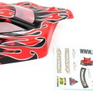 Redcat Racing 1/10 Buggy Body Red Flame  66200