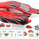 Redcat Racing 81357 1/8 Buggy Body Red and Black