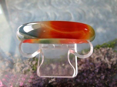polychrome agate bracelet-1
