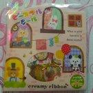 Creamy Ribbon Kawaii Sticker Sack