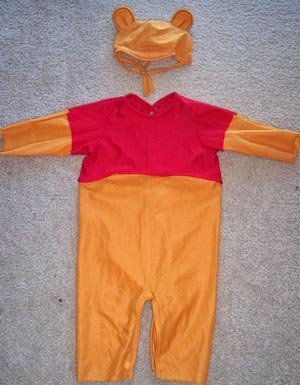 Disney Winnie-The-Pooh Halloween Costume Toddler www.thriftstoretreasures.com
