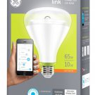 GE Link 65-Watt BR30 Smart LED Light Bulb. New in box.