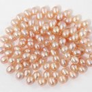 WE SELL QUALITY! 4-5mm DANCING PINK ROSE FRESHWATER PEARLS