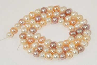 WE SELL QUALITY! 6-7mm High Grade! Pink,Purple,White,Natural Freshwater Pearls