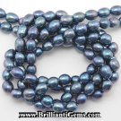 WE SELL QUALITY! 6-7mm RAINBOW BLUE FRESHWATER PEARLS