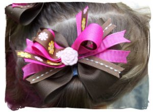 Boutique Style Single Hairbow