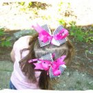 Boutique Style Pigtail Bows
