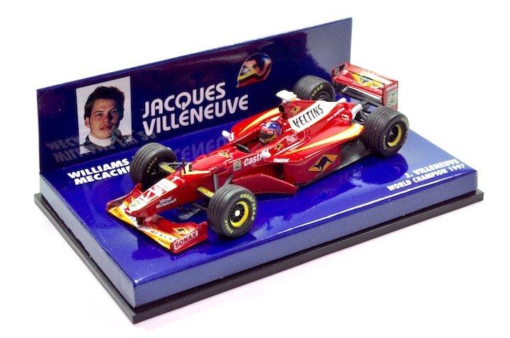 Minicamps 430980001 Williams FW20 �Jacques Villeneuve' Mecachrome/Veltins F1 World Champion 1997