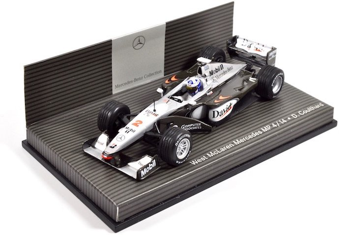 Minichamps B66961902 McLaren-Mercedes MP4/14 #2 'David Coulthard' F1 1999