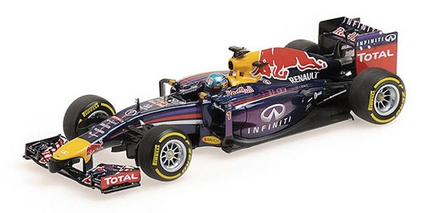Minichamps 410140001 Infiniti Red Bull Racing Renault RB10 #1 'Vettel' F1 2014
