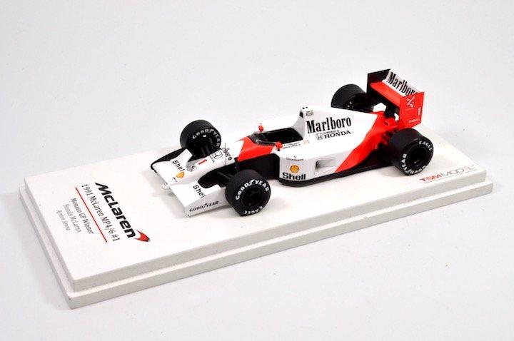 TSM-Models TSM134324 McLaren MP4/6 #1 'Ayrton Senna' 1st pl GP  of Monaco & F1 World Champion 1991