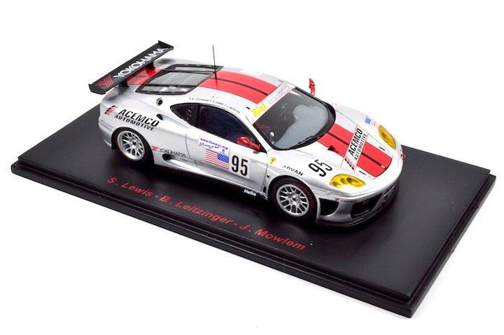 Red Line Models RL008 Ferrari 360 Modena #95 Team RISI 'Lewis - Leitzinger - Mowlem' Le Mans 2003