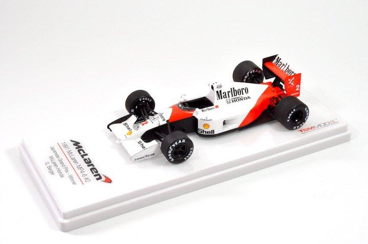 TSM-Models TSM144333 McLaren-Honda MP4/6 #2 'Berger' winner Japanese GP 1991