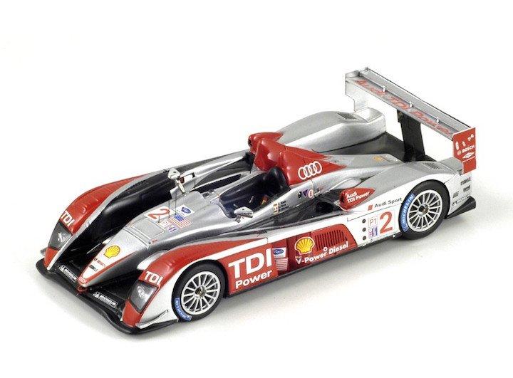 Spark Model S0680 Audi R10 TDI #2 'Biela - Pirro - Werner' winner 12 hrs of Sebring 2007