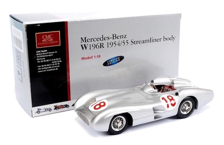 CMC M-049 Mercedes Benz W196R #18 'Fangio' F1 World Champion 1954/55