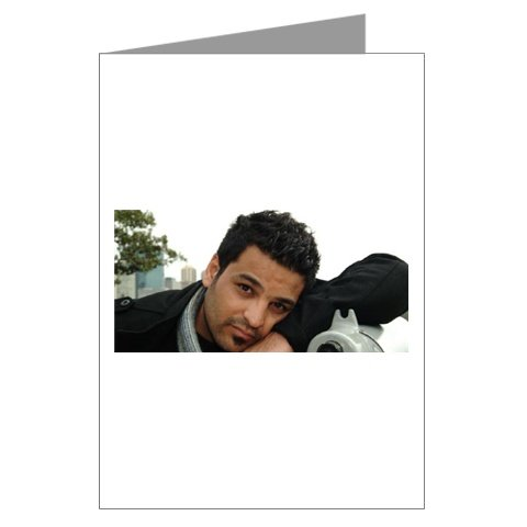 Hussam Al Rassam Greeting Card