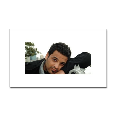 Hussam Al Rassam Sticker (Rectangular)