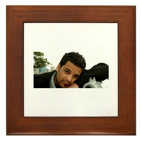 Hussam Al Rassam Framed Tile