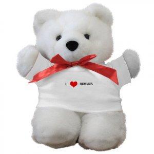 """I Love Hummus"" Teddy Bear"