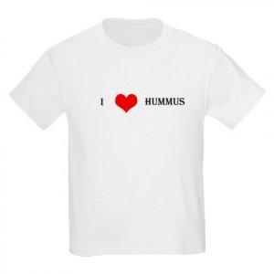 """I Love Hummus"" Kids Light T-Shirt"
