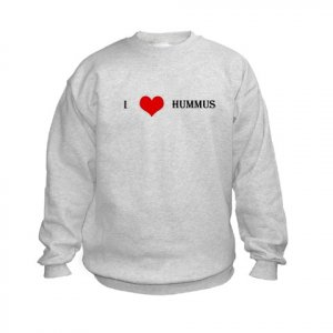 """I Love Hummus"" Kids Sweatshirt"