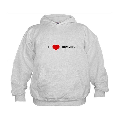 """I Love Hummus"" Kids Hoodie"