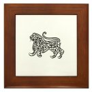 Islam / Muslim Lion Framed Tile