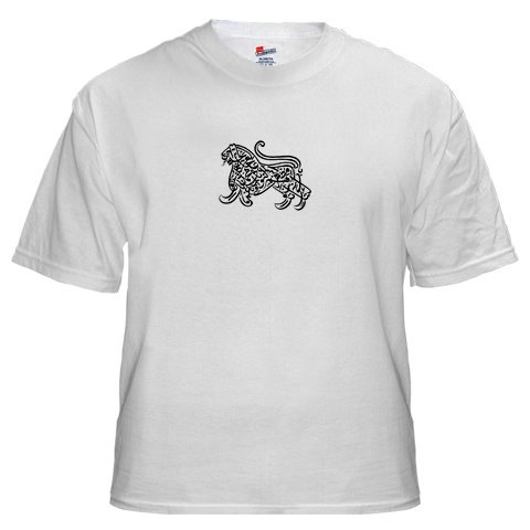 Islam / Muslim Lion Men's White T-Shirt