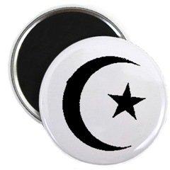 Islam / Muslim Crescent Magnet