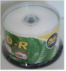 50 AV Labs 700MB Blank CD's