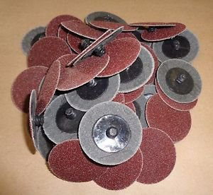 2 Inch Roll Lock sanding discs 60 GRIT high quality 50 pieces FREE SHIPPING SD60