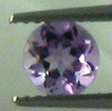 6mm (~0.61ct) Round Brilliant Africa Amethyst