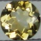 6mm (~0.61ct) Round Brilliant Brazil Citrine