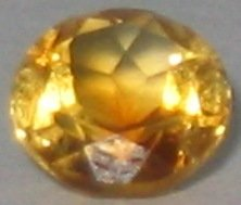 6mm (~0.73ct) Round Brilliant Brazil Citrine