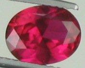9x7mm (~2.11ct) Oval Shape Sri Lanka Ruby