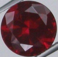 9.7mm (~4.27ct) Round Brilliant Burma Ruby
