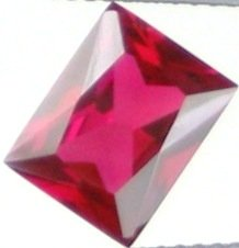 9x7mm (~2.55ct) Scissor Cut Sri Lanka Ruby