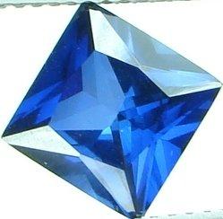 8mm (~2.73ct) Princess Cut Thailand Sapphire