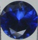 6.5mm (~1.7ct) Round Brilliant Thailand Sapphire