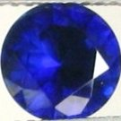6.5mm (~1.71ct) Round Brilliant Australia Sapphire