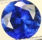 8mm (~2.27ct) Round Brilliant Ceylon Sapphire