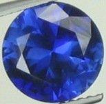 9mm (~3.48ct) Round Brilliant Ceylon Sapphire