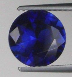 9mm (~3.56ct) Round Brilliant Ceylon Sapphire