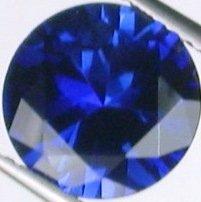 9.7mm (~4.28ct) Round Brilliant Ceylon Sapphire